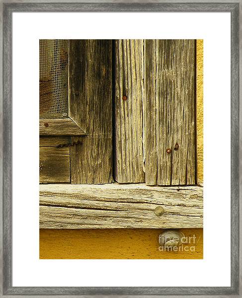 Hideout Framed Print by Joe Pratt