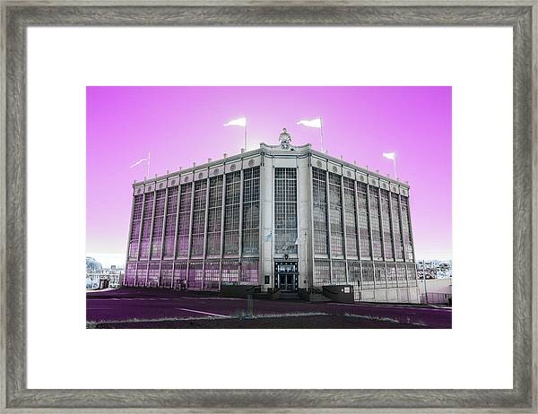 Higgins Armory In Infrared Framed Print