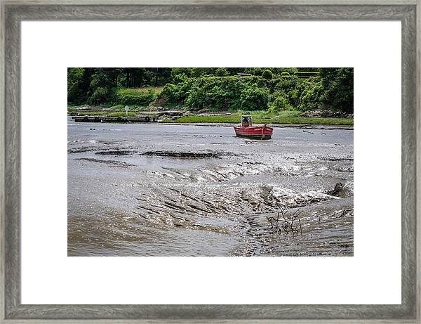 High And Dry Framed Print