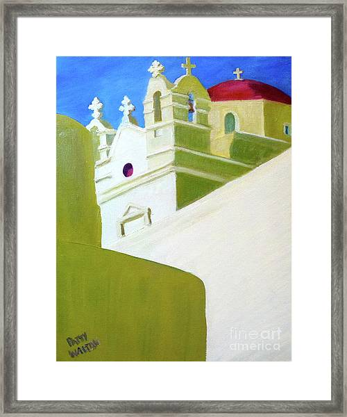 High And Mighty Framed Print