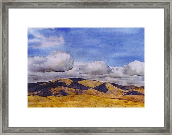 High Desert Framed Print
