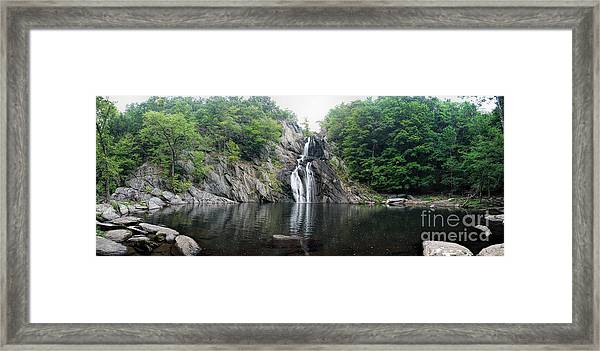 High Falls Framed Print