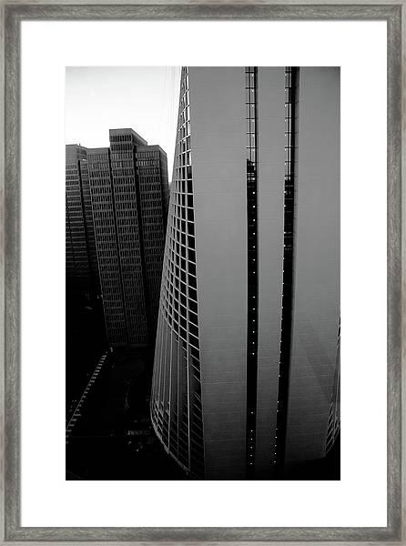 High Rise Framed Print