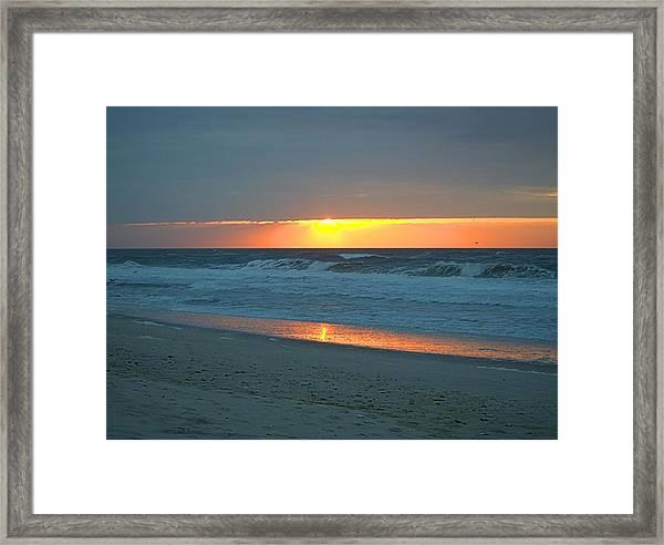 High Sunrise Framed Print