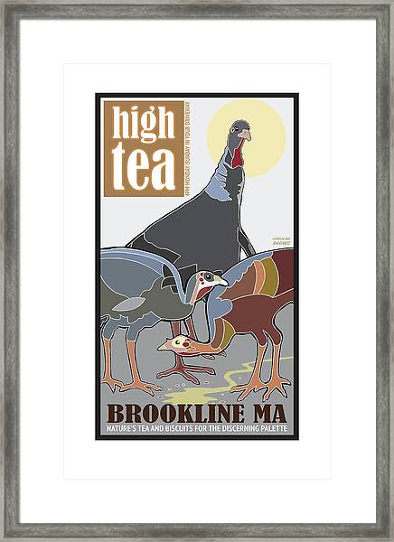 High Tea Framed Print
