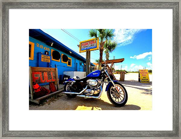 High Tides Harley Framed Print by Andrew Armstrong  -  Mad Lab Images
