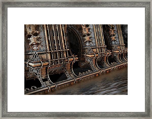 High Water Framed Print