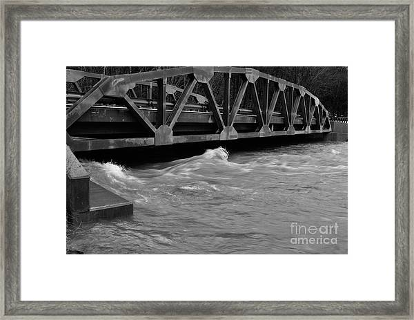 High Water Framed Print