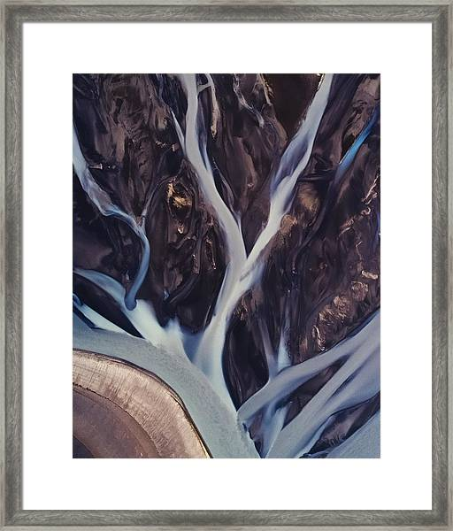 Highland Rivers Framed Print