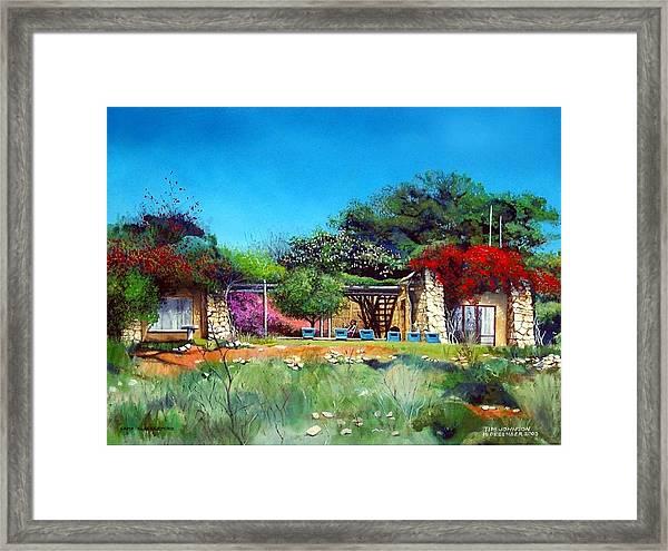 Highveld House Framed Print