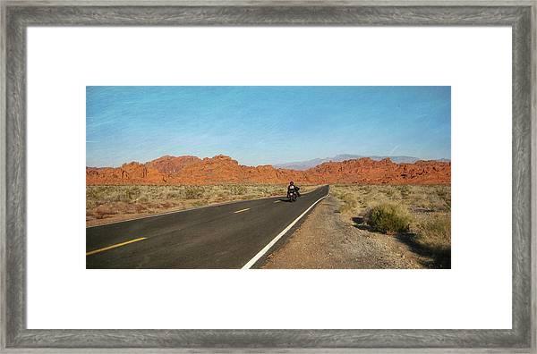Highway Journey Framed Print by JAMART Photography