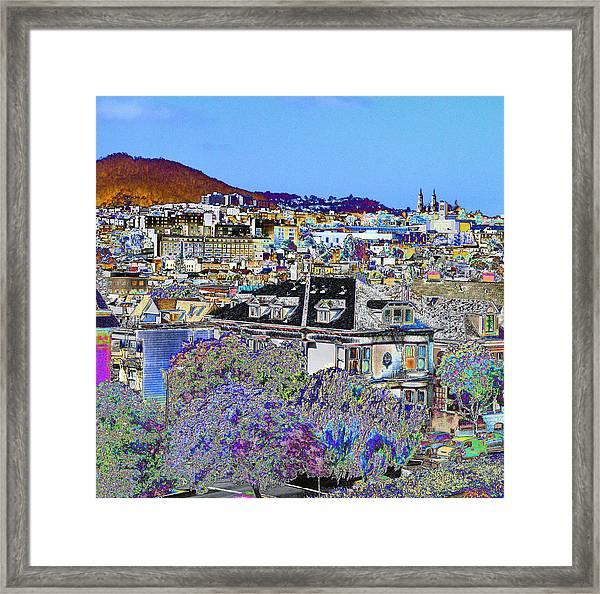 Hill Top Framed Print
