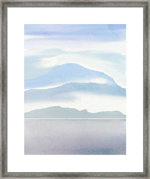 Hills In Borneo Framed Print