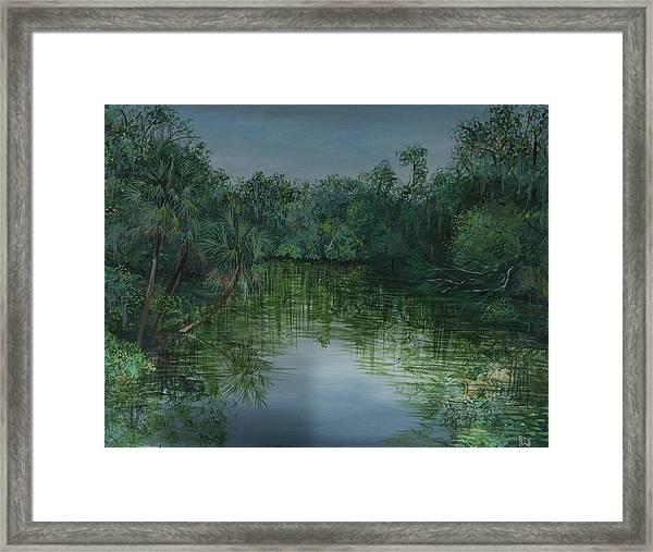 Hillsboro Flordia Framed Print