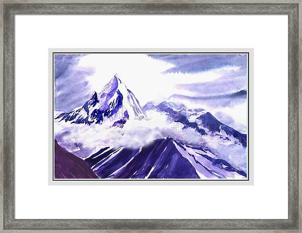 Himalaya Framed Print