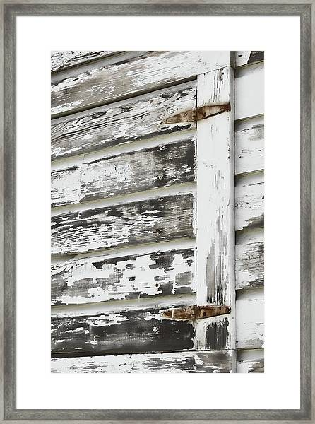 Hinges Framed Print by JAMART Photography