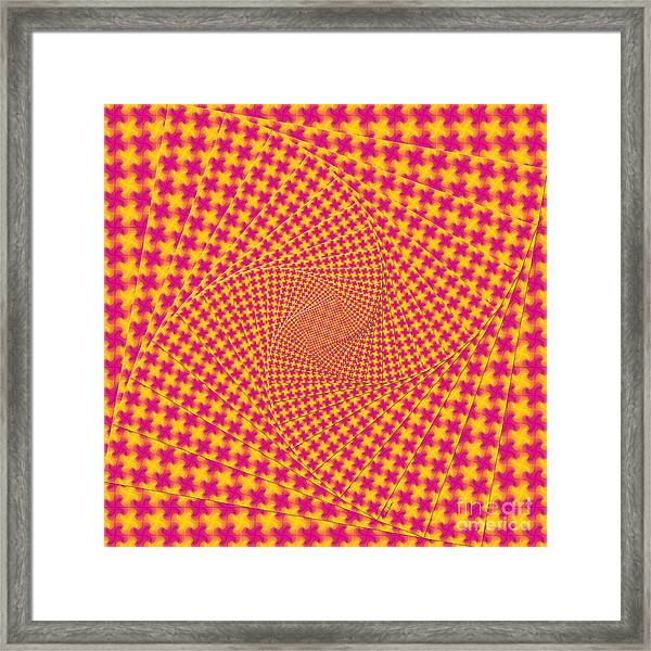 Hip To Be Square Framed Print