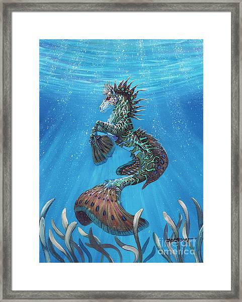Hippocampus Framed Print