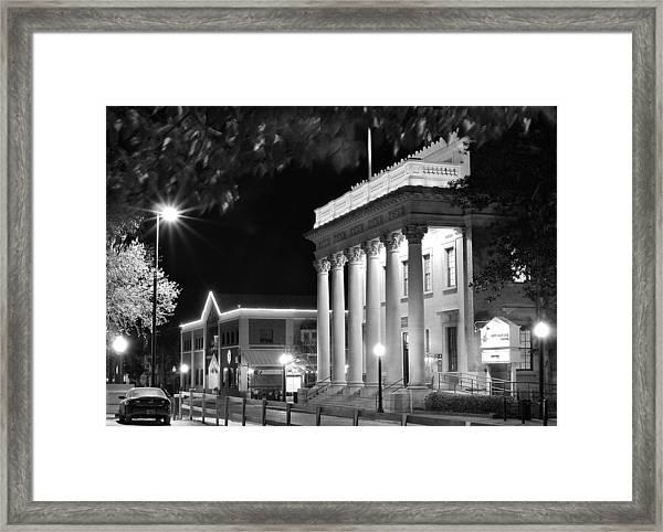 Hippodrome At Night  Framed Print