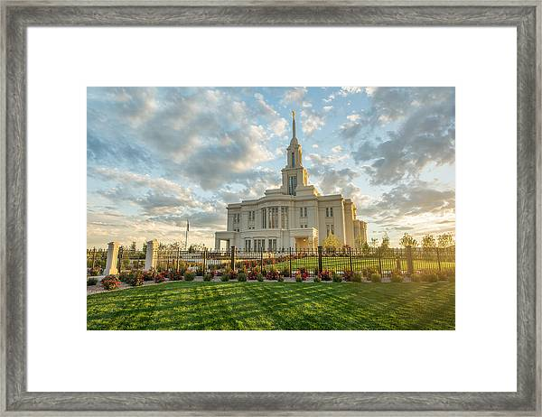Framed Print featuring the photograph His Light by Dustin  LeFevre