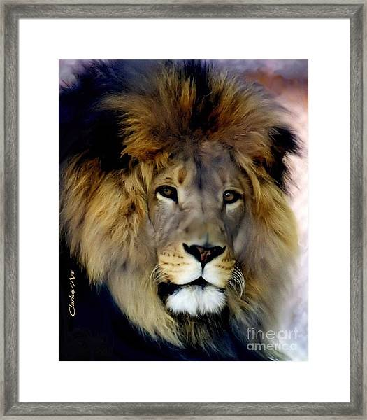 His Majesty The King Framed Print