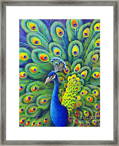 His Splendor Framed Print