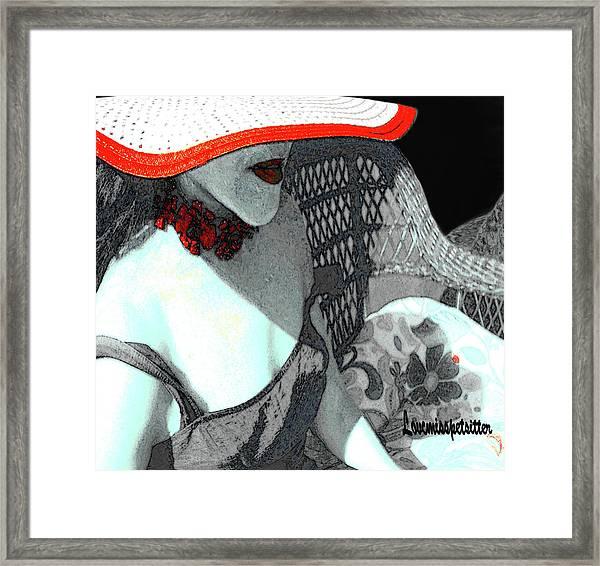 Abstract Woman Art 1 Framed Print
