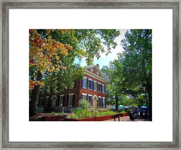 Historic Dahlonega Georgia Courthouse Framed Print
