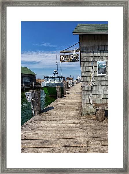 Historic Fishtown 12 Framed Print