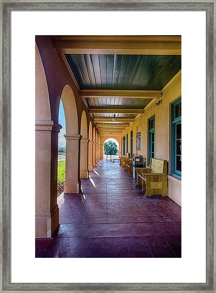 Historic Kelso Depot Framed Print