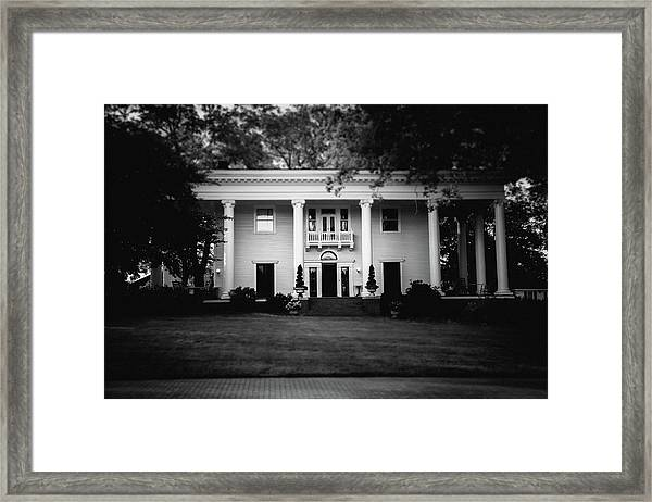 Historic Southern Home Framed Print