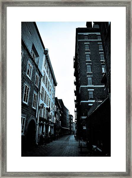Historic Walk Framed Print by Mark Highfield