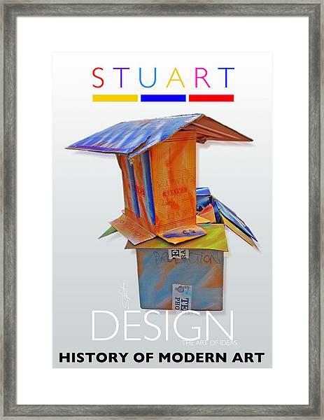 History Of Modern Art Framed Print