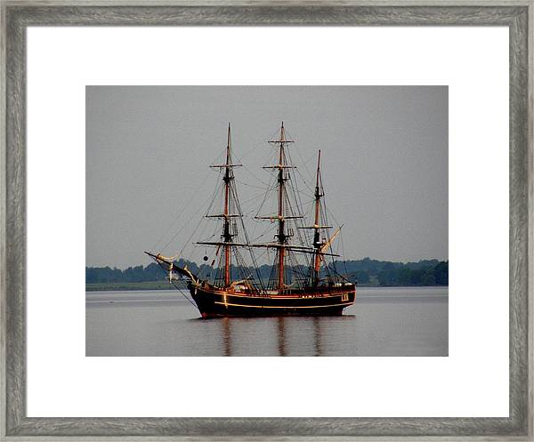 Hms Bounty  Framed Print