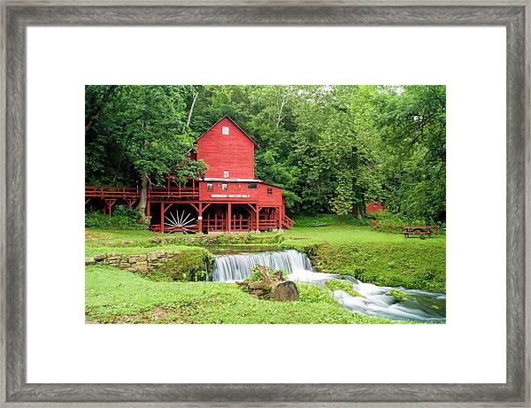 Hodgson Water Mill Framed Print