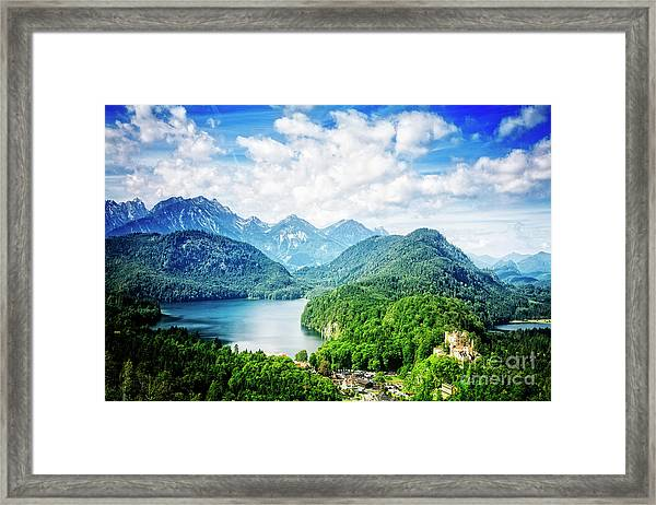 Hohenschwangau Framed Print