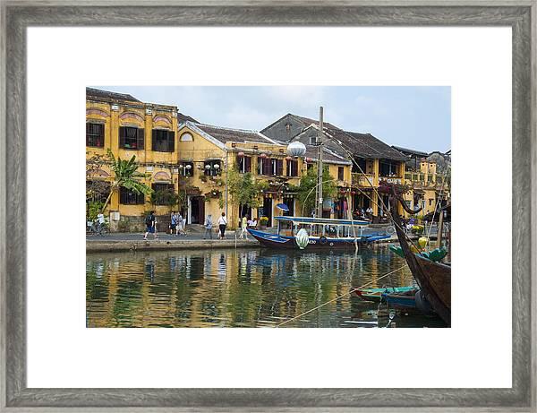 Hoi An On The River Framed Print