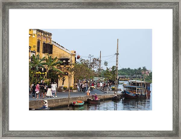 Hoi An Town Vietnam Framed Print