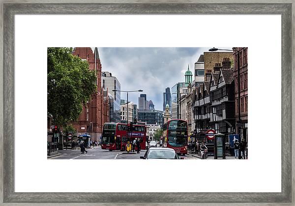 Holborn - London Framed Print