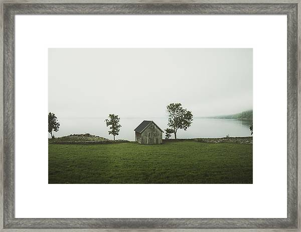 Holding On To Memories Framed Print