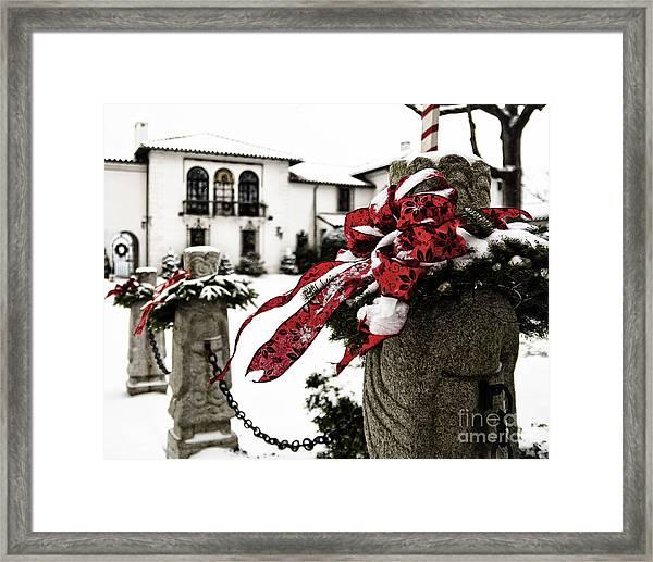 Holiday Home Framed Print