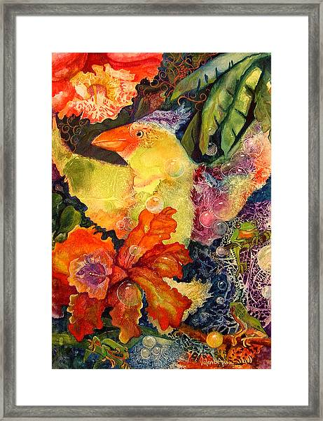 Holiday Framed Print by Valerie Aune