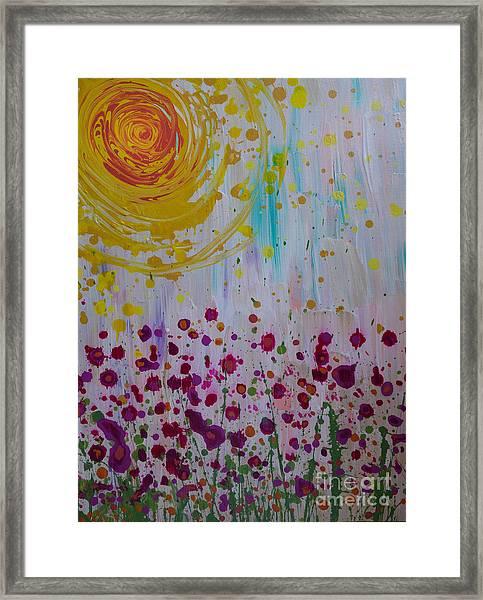 Hollynation Framed Print