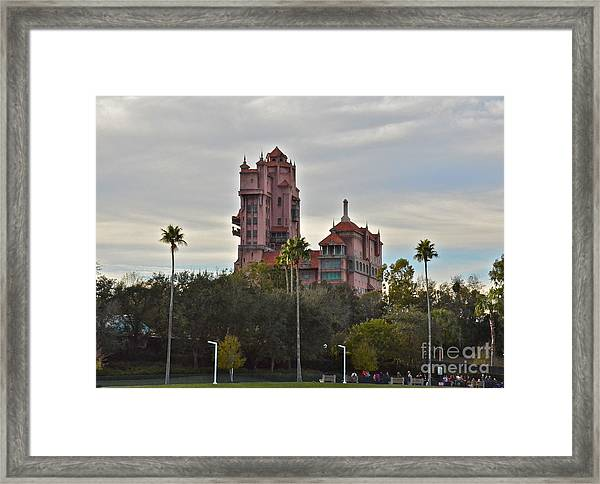 Hollywood Studios Tower Of Terror Framed Print