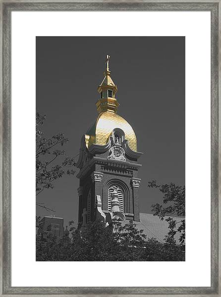 Holy Church Of The Immaculate Conception - Colorized Framed Print