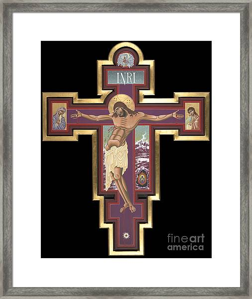 Holy Cross Of The New Advent 162 Framed Print