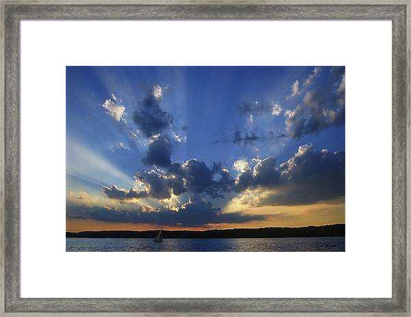 Holy Grail - Lake Geneva Wisconsin Framed Print