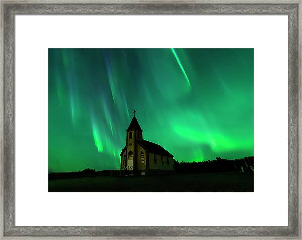 Holy Places Framed Print