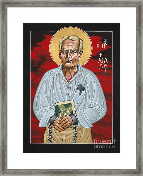 Holy Prophet Philip Berrigan 125 Framed Print