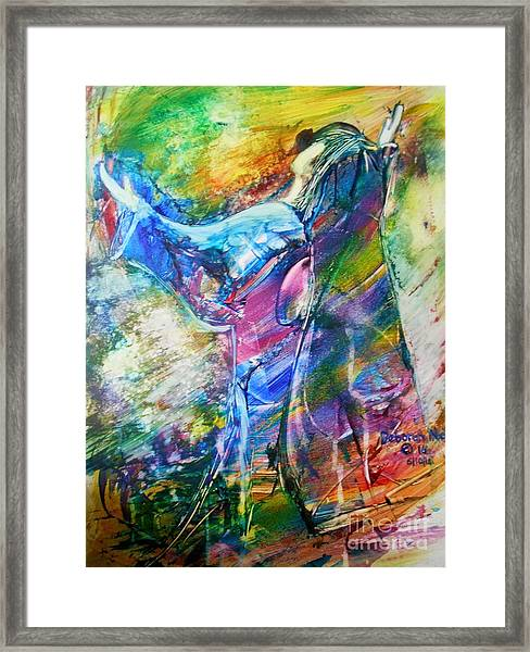 Holy Surrender Framed Print